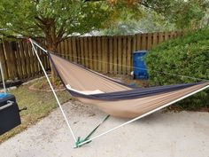 Make your own tensahedron stand : Tensa Outdoor Portable Hammock, Diy Hammock, Backyard Hammock, Hammock Stand, Hammocks, Carport Tent, Bushcraft Camping, Camping Gear, Cut The Ropes