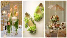 Декор з моху   Ідеї декору Easter 2020, Floral Arrangements, Floral Design, Table Decorations, Spring, Party, Flowers, Diy, Gifts