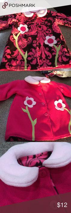 Reversible coat Fleece coat that can be worn two ways Strong Kids Jackets & Coats
