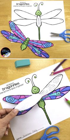 Dragonflies Differentiated Reading Passages! Grades 2-5. Perfect for your insects unit, guided reading groups, nonfiction reading, finding text evidence, using text features, and dragonflies vocabulary! Insects Vocabulary | Insects Printables for Kids | Insects Activities | Insects Worksheets | Dragonflies Life Cycle