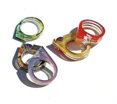 Layered Acrylic Jewelry | Jennifer Merchant Design