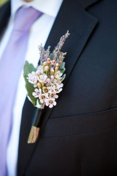 @Jennifer Kolarov these were the little white wildflower things I was talking about… Not sure it works?  But I definitely like something with slightly more density than baby's breath wildflower boutonniere