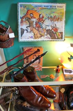 Gallery - Fanny's Flat Vintage Boutique, Wonderful Things, Flats, Gallery, People, Painting, Art, Art Background, Painting Art