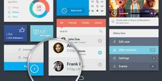 Best Premium UI #Kits And Web Elements For #Web #Designers