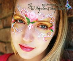 Arty Face and Body Painting    pretty mask
