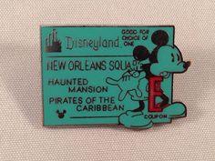 Cast Lanyard Series Pin Disneyland E Ticket New Orleans Square Hidden Mickey DLR