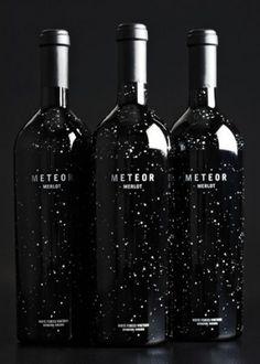 Awesome wine bottle design!