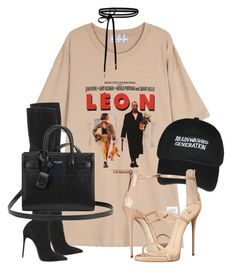 Untitled #3624 by xirix on Polyvore featuring Giuseppe Zanotti, Le Silla and Yves Saint Laurent
