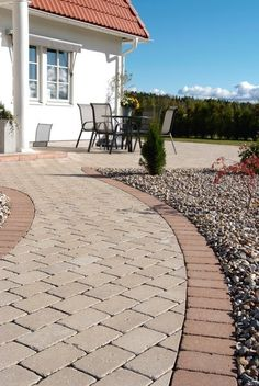 Utemiljøgrossisten AS Rustik Sidewalk, Patio, Garden, Outdoor Decor, Home Decor, Ideas, Garten, Decoration Home, Terrace