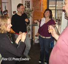 Playing an Icebreaker Party Game- Great and easy ideas to get things going