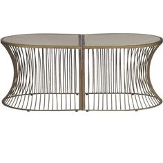 Gabby Furniture Olivia Coffee Table - can be split into 2 separate tables - x x Gabby Furniture, Decor, Furniture, Table, Home, Brass Coffee Table, Coffee Table, Home Decor, Home Decor Items