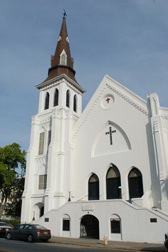 Emmanuel AME Church - Charleston, SC | Flickr - Photo Sharing!  God bless this church's congregation, the Charleston community, and our heavy hearts.
