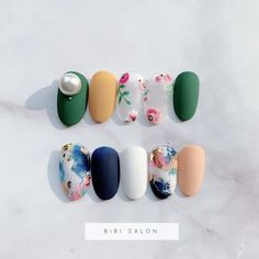 Like the blue but with pink instead of cream Luv Nails, Pretty Nails, Fabulous Nails, Perfect Nails, Colorful Nail Designs, Nail Art Designs, Dipped Nails, Japanese Nails, Flower Nails