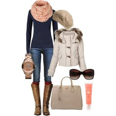 winter casual..