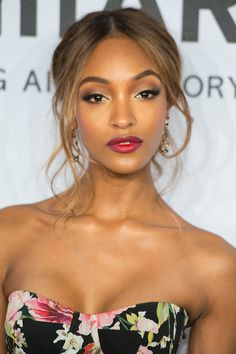 How to make the ombre lip work in real life . . . Jourdan Dunn