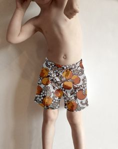 7e3bc7f067 Items similar to Kids, Children and Baby Shorts in Retro Fabrics,
