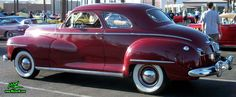 Photo of a red 1948 Dodge 5 Window Coupe at the Scottsdale Pavilions Classic Car Show in Arizona. Description from misterw.com. I searched for this on bing.com/images