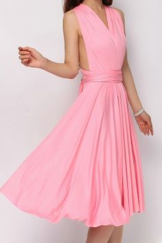 5bb95dcaaf4 Long Infinity Dresses Plus size dresses peach coral XXL to 5XL ...