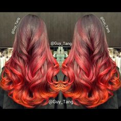 Fire Ombre by Guy Tang