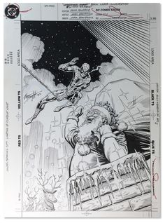 ORIGINAL ART COVER, WITHIN OUR REACH #1, SPIDER-MAN, NORM BREYFOGLE, 1991 - W.B.