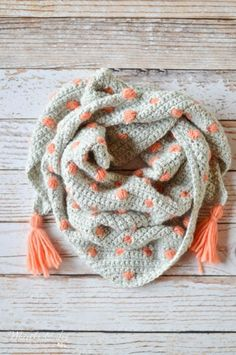 Jan 2020 - Crochet Pop Scarf - This pretty scarf comes in a fabulous kit by We Are Knitters! It's beginner friendly and cozy to wear. Crochet Patron, Crochet Poncho, Love Crochet, Crochet Scarves, Diy Crochet, Crochet Crafts, Crochet Clothes, Crochet Stitches, Crochet Baby