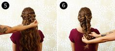 Mermaid Braid: Steps 5-6