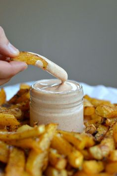 Low Carb French Fries :http://www.sweetashoney.co/low-carb-french-fries/