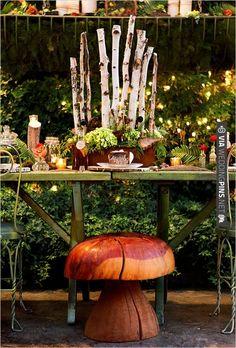 backyard woodsy wedding | VIA #WEDDINGPINS.NET