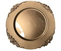 33cm Gold Charger Plate - Fancy Edged