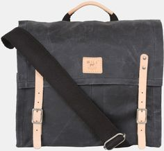 Waxed Canvas Military Duffle Backpack by Collected Works Co