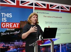 #ExploreGB Celebrates #Britain's Record #Tourism: Sally Balcombe joined #VisitBritain as CEO in September 2014. // © 2015 TravelAge West/VisitBritain