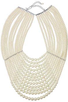 Kenneth Jay Lane|Multi-strand glass-pearl necklace|NET-A-PORTER.COM