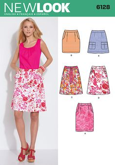 New Look Misses Skirts 6128