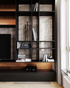 digest interior design of the week 4 - Gillde Bedroom Wall Units, Living Room Tv Unit, Bedroom Layouts, Living Room Interior, Home Interior Design, Living Room Decor, Contemporary Bedroom, Luxurious Bedrooms, Living Room Designs
