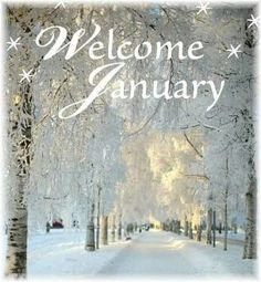 Welcome January wallpaper 2019. #HelloJanuary
