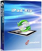 60% Off - Joboshare iPad Rip. Joboshare iPad Rip also allows you to rip, copy or backup iPad music, movie, photo, ePub, pdf, audiobook, Podcast and TV Show to computer. You can even simply get sync iPad library like music, movie, ePub, pdf, audiobook, Podcast and TV Show files to your iTunes.