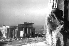 Nelly's [Elli Souyioultzoglou-Seraidari] -Nikolska, a hungarian dancer at the Parthenon, Acropolis-Athens, Greece S Pic, Picture Show, History Of Photography, Art Photography, Dolly Sisters, Acropolis, Parthenon Athens, Greek Art, Fine Art Photo