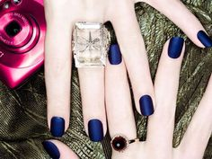 Green nail polish, Matte nails, Minx metallic manicure, Blackberry bling, Taupe nails, Nude nail polish - so many manicure trends for you to try!