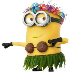 Minion... I want a minion bobble head... but ummm, they have no neck... impossible! urgh