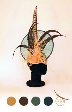 N30 Atelier: [Tocados] De plumas y sinamay