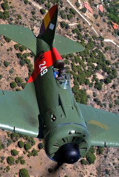The Mosca!FIO's Polikarpov I-16 Rata made its maiden post-restoration flight in 1997, and its official public debut in Spain came on May 4th, 2008. The plane is marked as CM-249, a Super Mosca flown by Captain Jose Maria Bravo, commanding officer for 3 Escuadrilla. Although this was Captain Bravo's plane, as the white squadron leader's code numbers indicate, Sgt. J. L. Tarazonait also flew it on occasion.