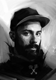 Paintable.cc | 50 Stunning Digital Painting Portraits: Viktor Miller-Gausa #digitalpainting #portrait #inspiration