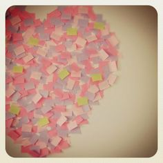 post it heart*