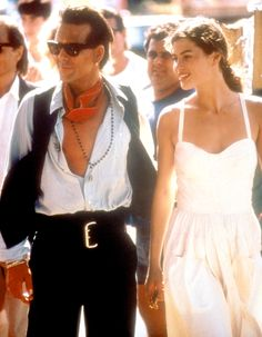 Carre Otis  Mickey Rourke