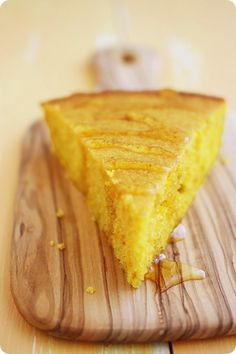 "Pumpkin Cornbread Recipe - I doubled the recipe and made in a 9x13 pan; next time I'll double and make in an 8"" square pan (it wasn't very thick, but very good!)"