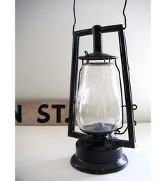 Etsy Transaction - Antique Black Railroad Lantern ($20-50) - Svpply