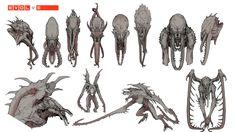 Pre-vis work for Evolve Wild-life. Evolve is© 2k Games