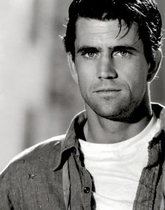 Mel Gibson. I know he's done some bonehead things. But he's a hottie in this picture.