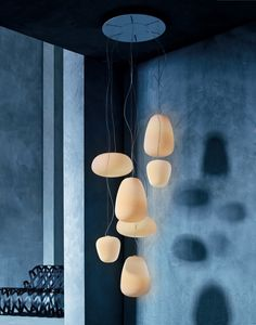 Frosted glass Lanterns by foscarini