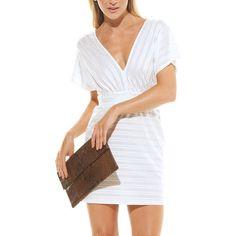 AVA: Monique Dress White, at 70% off!